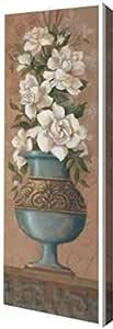 "PrintArt GW-POD-11-JFY-054-7x20""Courtly Roses III"" 由 Jillian Jeffrey Gallery 装裱艺术微喷油画艺术品 8"" x 24"" GW-POD-11-JFY-054-8x24"