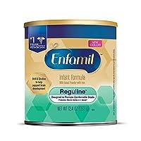 Enfamil 美赞臣 Reguline 1段 0-12个月 半水解温和婴儿配方奶粉 352g/罐 单罐装 助排便易***配方