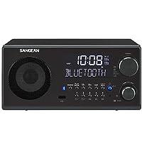 SANGEAN 山进 WR-22 绅士多功能台式蓝牙音箱收音机
