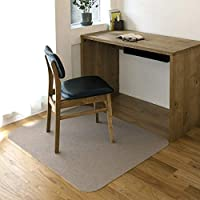 NIKON (Nico) 不易移位椅垫 桌垫 防滑 90×110cm 米黄色 90×110×0.4cm KR-02