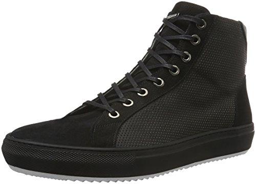 Karl Lagerfeld Sneaker-herren, Men's Low-Top Sneakers Black - Schwarz (Schwarz 90) 9 UK