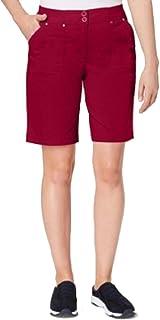 Karen Scott 罗纹腰实用短裤