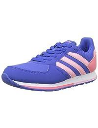 adidas 8k, Unisex Kids Gymnastics Shoes, Multicolor (Hi-res Blue S18/light Pink/chalk Pink S18), 5 UK (38 EU)
