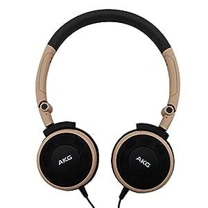 AKG Y30 便携式头戴耳机 立体声手机通话耳机 卡其色