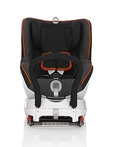 Britax 宝得适 汽车儿童安全座椅 双面骑士DUALFIX-BX 曜石黑 五点式安全带 反向安装 ISOFIX安装 适用于约0-18kg 约0-4岁