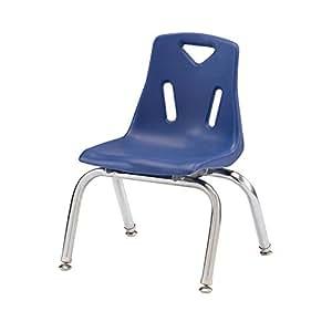 offex 25.4CM 高学校儿童 STACK Chair with 镀铬 legs