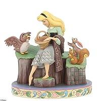 enesco 摆件 沉睡森林美女 60周年纪念款 W19.7×H20.3×D12.7cm Disney Traditions 6005959