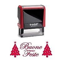 圣誕印章 Buone Feste 47x18 毫米 - Printy 4912 Trodart