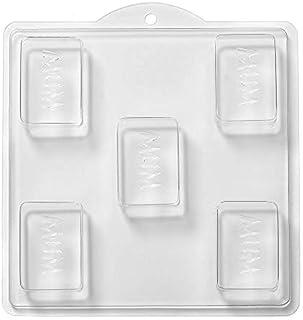 World Of Moulds 5-Cavity Mum 肥皂/沐浴炸弹模制品,PVC,25.5 x 24 x 4厘米