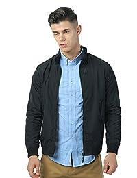 IZOD 男式 立领防风夹克经典拉链外套风衣外套时尚装 A91173JK016
