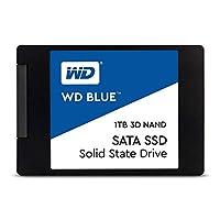 WD 内置SSD 2.5英寸 / 1TB / WD Blue 3D / SATA3.0 / WDS100T2B0A-EC