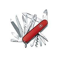 Victorinox 维氏军刀 瑞士多功能军刀 工匠 1.3773 红色(91毫米 24种功能)