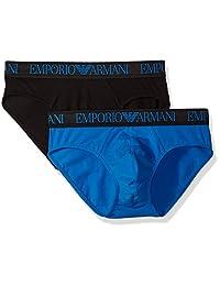Emporio Armani 男式 endurance 2条装内裤
