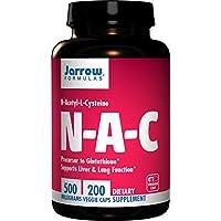 Jarrow Formulas N-A-C (N-乙酰基-L-半胱氨酸) 胶囊,500毫克,200粒