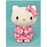 三丽鸥Hello Kitty 樱花和服 毛绒玩具 M号