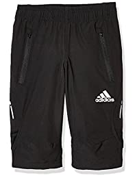 adidas Kids 阿迪达斯 男童 小童梭织短裤 3/4 YB HY WV 34 PNT