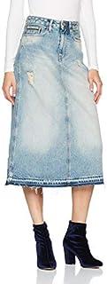 Calvin Klein Jeans 女士半身长裙 A 字中长裙