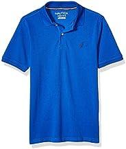 Nautica 诺帝卡男童短袖纯色 Polo 衫
