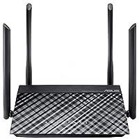 华硕 RT-AC1200G+ 双频千兆无线路由器,客户端/接入点/桥接模式,用于 FTP、媒体服务器的 USB 端口,3G/4G 加密器支持