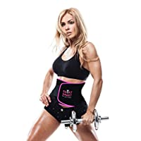 腰部修剪器优质*腹带适合男士女士锻炼锻炼锻炼锻炼锻炼的可调节包裹 - 享受甜美腹部肌肉背部支撑