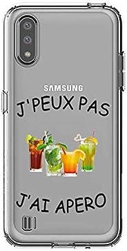 Cokitec 透明手机套适用于三星 Galaxy A01 Jpeux Pas Jai Apero