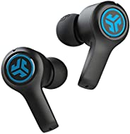 JLab Audio JBuds Air Play 游戏无线耳塞 | 30+ 全小时蓝牙播放时间超低延迟移动游戏| 内置麦克风| 双连接 | EQ3 声音/ C3 聊天