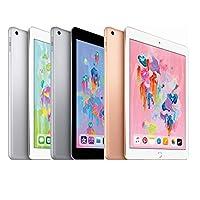 【2018新款】Apple iPad 平板电脑 9.7英寸 WiFi版 32GB 金色 (A10 芯片/Retina显示屏/Touch ID MRJN2CH/A)正品国行 顺丰发货 可开专票