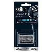Braun 博朗 替換剃須刀,70B,黑色,與系列7剃須刀兼容