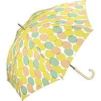 ワールドパーティー(Wpc.) 雨傘 長傘 イエロー 58cm レディース ムナ 73988-09 YE