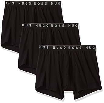 BOSS HUGO BOSS Men's Trunk 3p Us Co 10145963 01  New Black Small