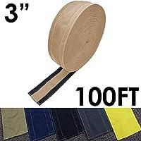 "SafCord 地毯上的电线套 灰褐色 3"" Width x 100FT Length CC-SC-3-100-TP"