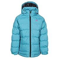 Trespass 女孩 Amira 保暖软垫防水冬季夹克带可拆卸兜帽