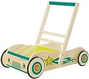 roba 学步车,木质游戏和学步工具,带制动器