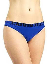 Calvin Klein Women's Logo Cotton Thong