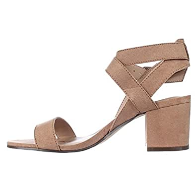 American Rag Womens Caelie Open Toe Casual Slingback Sandals, Camel, Size 10.0 US