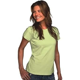 Bella Ladies' Short Sleeve 5 oz Cotton Jersey T-Shirt in White - Medium