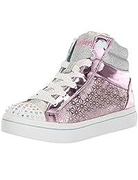 Skechers TWI-Lites-Glitter-Ups 儿童运动鞋