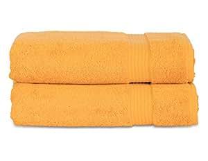 TowelSelections Blossom 系列柔软毛巾 * 土耳其棉 土耳其制造 Marigold 2 x Bath Towels BLS-2BTW-MARG