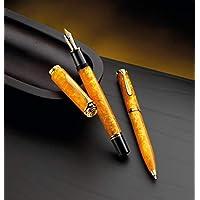 钢笔 M600 活力橙色,笔尖 B