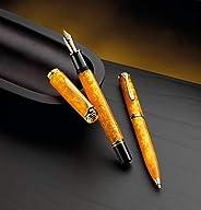 Pelikan 百利金 钢笔 M600 活力橙色 笔尖 B