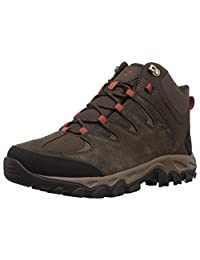 Columbia 男士 Buxton Peak 中帮防水宽徒步靴