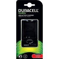 Duracell USB 充电器 适用于佳能 LP-E10 数码相机电池