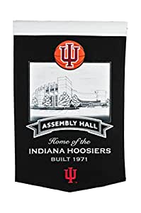 NCAA Indiana Hoosiers Assembly Hall Stadium Banner