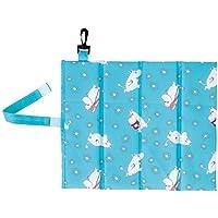 丸真 便携用 坐垫折叠式 姆明小米莉莎·拉松 MOOMIN 姆明 27×31cm 1人用 1445011300