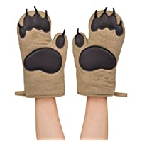 Fred and Friends BEAR HANDS Oven Mitts Fred and Friends BEAR HANDS Oven Mitts 棕色 均码
