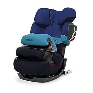 (跨境自营)(包税) CYBEX 赛百斯 儿童安全座椅pallas 2-fix 约9个月-12岁 月光蓝