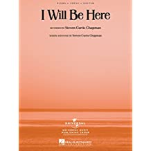I Will Be Here Sheet Music: P/V/G (English Edition)