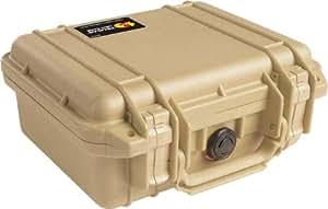 PELICAN 派力肯 #1200 安全箱摄影器材防护箱小型箱 (沙漠色) 含标准海绵(亚马逊进口直采,美国品牌)