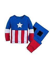 "Marvel 美国队长服装PJ PALS 婴儿多款套装 ""Multi"" 12-18 MO"