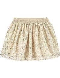 Baby B'Gosh 女童闪亮金色亮片薄纱芭蕾舞短裙带金色闪光腰带 18 个月